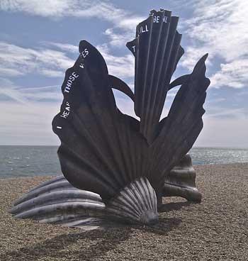 Aldeburgh memorial to Benjamin Britten
