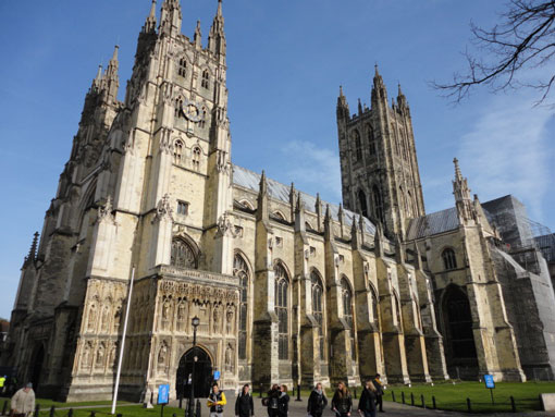 Private tours to Canterbury Cathedral