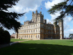Private tours to Highclere Castle by car