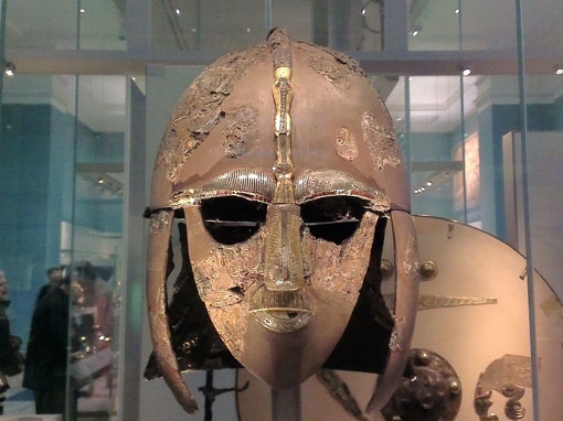 British Museum - the Sutton Hoo Helmet