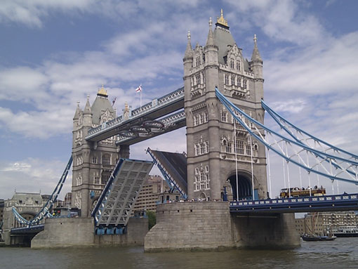 Tower Bridge; London highlights