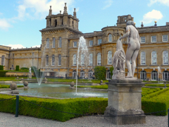 Private tours to Blenheim Palace by car