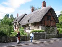 Private tours to Stratford-upon-Avon by car