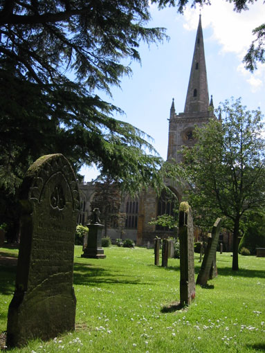 Holy Trinity church, Stratford upon Avon
