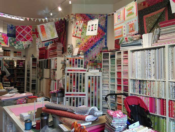 Where to Buy Fabrics & Threads in London